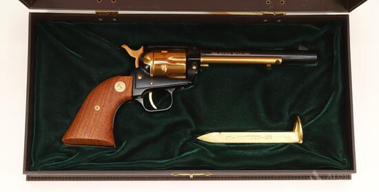 Colt Frontier Scout Golden Spike 1869-1969 Commemorative Single Action Revolver Cased Set