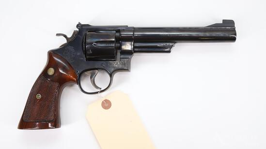 Smith & Wesson 25-2 1955 Target Model Double Action Revolver Cased Set
