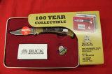 Buck 112 Ranger, Lock Back Knife, 100 year Tin