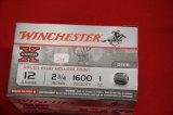 Box of 15, Winchester Super X 12 ga Slug Hollow