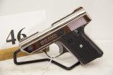 Cobra, Model CA, Semi Auto Pistol, 380 cal