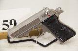 Walthers, Model PPK-S, Semi Auto Pistol, 380 cal,