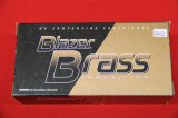1 Box of 50, Blazer Brass, 9 mm Luger 115 gr FMJ