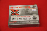 1 Box of 5, Winchester Super X, 20 ga 2 3/4