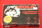 1 Box of 5, Wolf Power Buckshot, 12 ga 2 3/4
