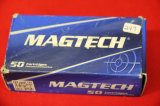 1 Box of 50, Magtech, 9 mm  Luger 115 gr FMJ