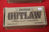 1 Box of 50, Buffalo Outlaw, 45 Long Colt