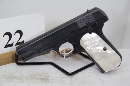 Colt, Model 1903 Pocket, Semi Auto Pistol, 32 cal,