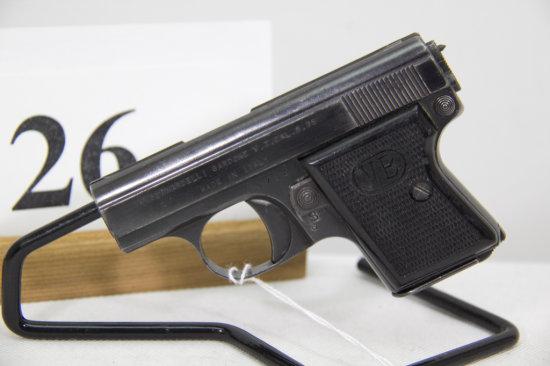 V. Bernardelli, Model Pocket, Semi Auto Pistol,