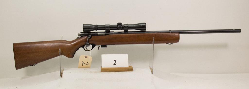 Mossberg, Model 44 US, Bolt Rifle, 22 cal,