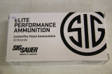 1 Box of 50, Sig Sauer Elite, 40 S/W 180 gr FMJ