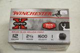 1 Box of 15, Winchester Super X 12 ga 2 3/4