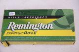 1 Box of 20, Remington Express 22-250 Rem 55 gr