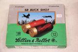1 Box of 10, Lellier & Bellot, 12 ga SB 00 Buck
