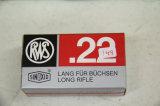 1 Box of 50, RWS 22 cal Match