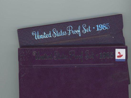 2 - 1985-S PROOF SET