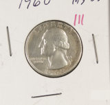 1960 WASHINGTON QUARTER