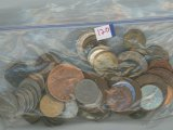 BAG OF WORLD COINS