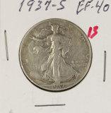 (2)1937-S WALKING LIBERTY