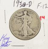 1938-D WALKING LIBERTY