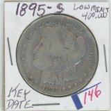 1895-S MORGAN DOLLAR