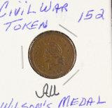 1863 CIVIL WAR TOKEN