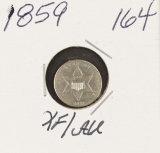 1859 - THREE CENT PIECE