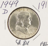 1949-D FRANKLIN HALF