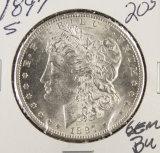 1897-S MORGAN DOLLAR