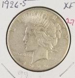 1926 PEACE DOLLAR XF