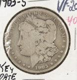 1903-S MORGAN DOLLAR