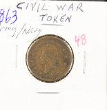 1863 ARMY/NAVY
