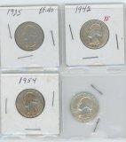 (4) 1935-1942-1954-1964