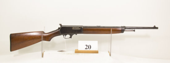 Winchester, Model Self Loader, Semi Auto Rifle,