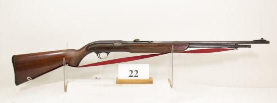 JC Higgins, Model 30, Semi Auto Rifle, 22 cal,