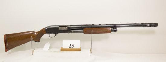 JC Higgins, Model 20, Pump Shotgun, 12 ga,