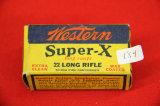 1 Box of 50, Western Super-X 22 LR
