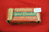 1 Box of 50, Remington Kleanbore 22 LR
