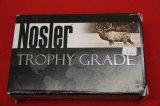 1 Box of 20, Nosler Trophy Grade 264 Win Mag