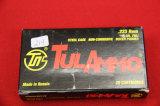 1 Box of 20, Tul Ammo 223 Rem 55 gr FMJ