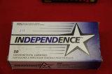 1 Box of 50, Independence 9 mm Luger 115 gr