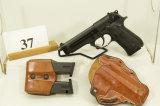 Beretta, Model US M9, Semi Auto Pistol, 9 mm cal,