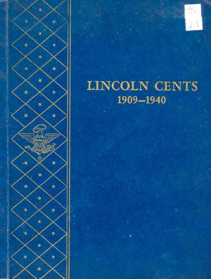 PARTIAL SET LINCOLN CENTS