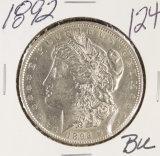 1892 - MORGAN DOLLAR - BU