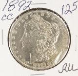 1892-CC MORGAN DOLLAR - AU