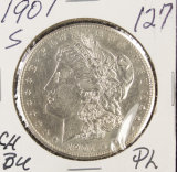 1901-S MORGAN DOLLAR - BU