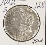 1902-S MORGAN DOLLAR - BU