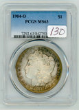 1904-O PCGS MS63, MORGAN DOLLAR