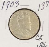 1903 - CANADIAN HALF DOLLAR - AU