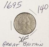 1695 - GREAT BRITIAN SIX PENSE - XF
